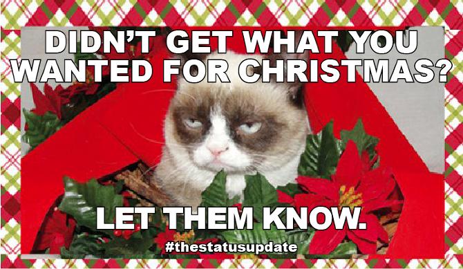 grumpy cat meme christmas tree - photo #14